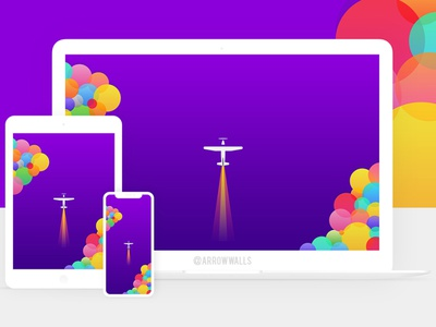 Free Wallpaper #06 tablet wallpaper mobile ui minimal illustration free flat design abstract 8k 4k