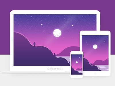 Free Wallpaper #12 logo natural simple mobile wallpaper minimal illustration free flat design abstract 8k 4k