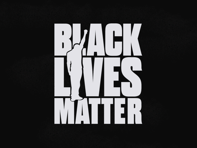 BLACK LIVES MATTER design stickermule stickers vector respect fuck racism typogaphy black lives matter