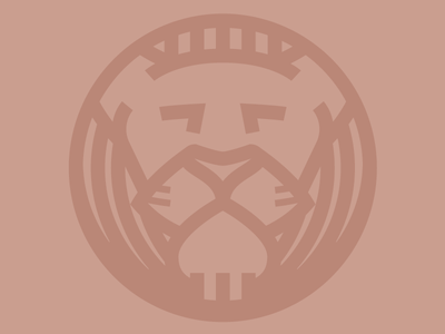 Lion lion animal flat illustration iconography just for fun pixel-perfect icon