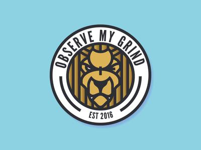 Observe My Grind Logo
