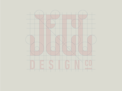 JDC grid grid logo custom type designer logotype identity minimal typography clean simple flat branding logo