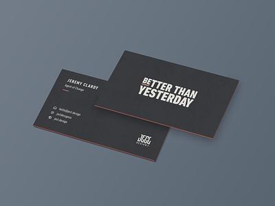 Business Card Concept clean simple business card design businesscard minimal flat dark mockup identity design business card branding