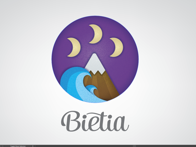 Bietia jewellery jewelry purple mexican sea illustrator identity icon typography flat vector logo illustration design branding