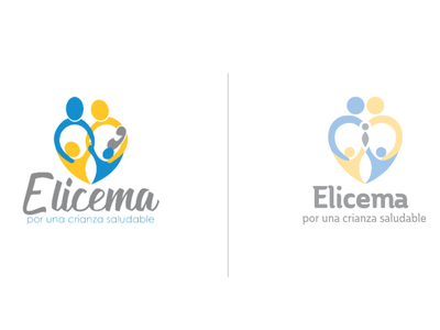 Elicema rebranding icon illustrator identity flat typography vector logo illustration design branding