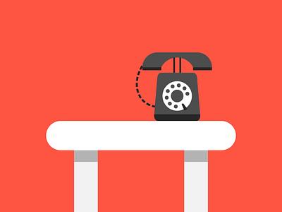 Contact color red flat web branding vector ipad illustration designer design flat design affinity designer