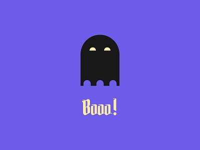 booo! ghosts ghost halloween party halloween design halloween blue flat illustration designer design flat design affinity designer