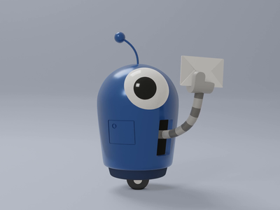 Resistbot robot animated blender3d 3d resistbot
