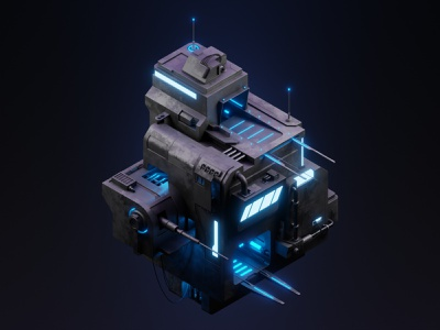 Space port lowpoly 3dillustration isometric illustration isometric art isometric blender blender3d 3d