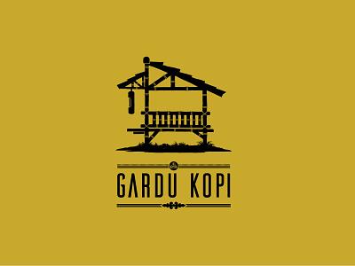GARDU KOPI design product packaging coffee illustration branding logo