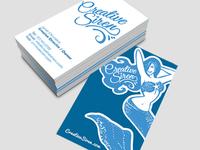 Creative Siren Business card