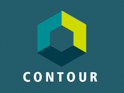 Contour [Rejected] logo hexagon geometric