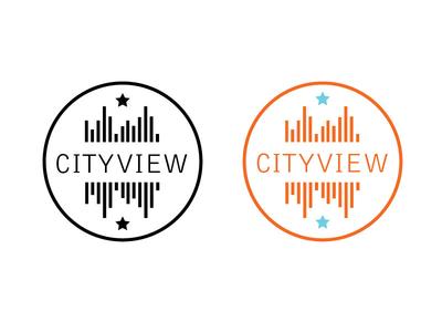 Female Tech/City Event logo thin modern