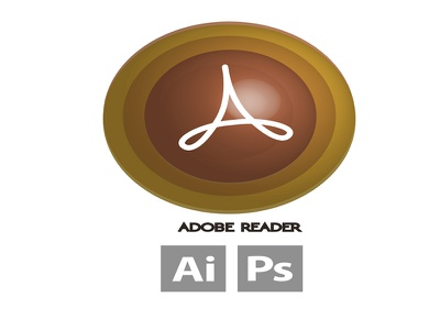 Icon Adobe Reader reader. adobe png win7 win10 lion leopard icns ico icons
