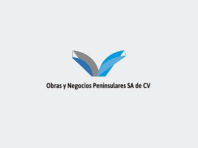 Obras y Negocios Peninsulares SA de CV pantalla rgb impreso print designs graphicdesigns branding logotype logo