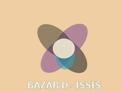 Bazar D  Issis impreso design adobe logo designs illustration business rgb logotype print graphicdesigns branding