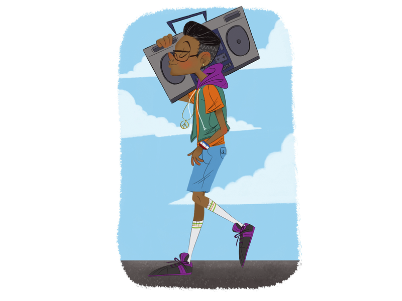 fresh character design illustration