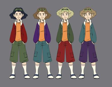 Character design 02 character design illustration