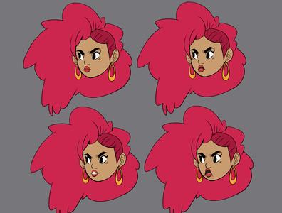 bocas_diseños characterdesign illustration