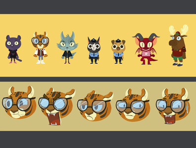 lineup and expressions