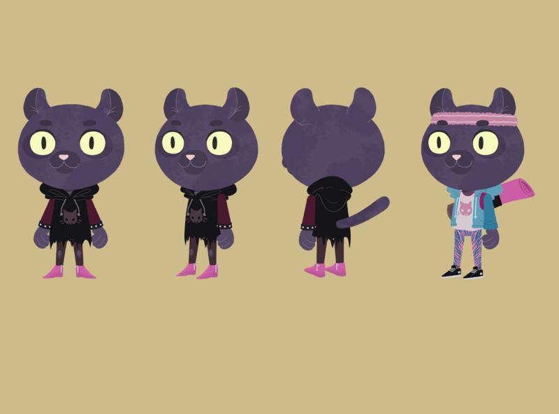 panther design characterdesign illustration