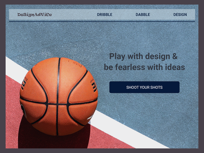 Dribble Dabble Design web ui ux design