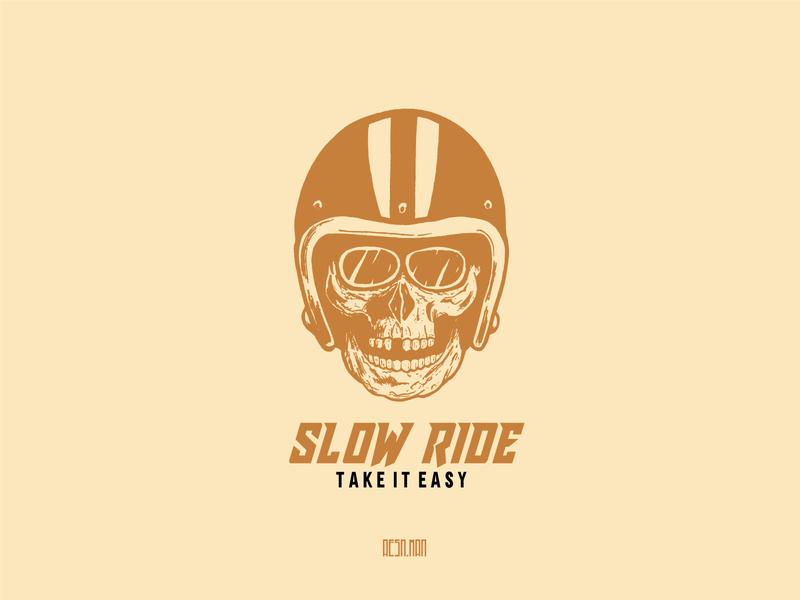 Skull Rider skull vintage design clothing clothing brand vintage vector branding logo design illustration