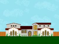 House [Pixel Art] mediterranean spanish modern grass architecture house pixel pixel art pixelart