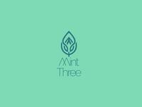 Mint Three Logotype