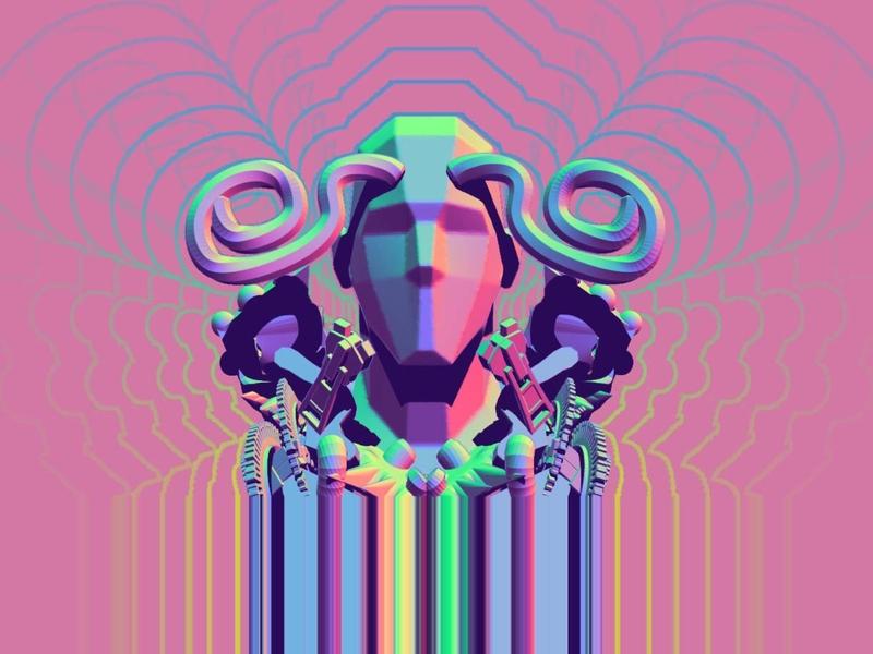 🍬Random mellow visionary art logotype icon trip psychedelic art dmt lsd branding design psychedelic gt illustration art vector photoshop guatemala icarusdie design