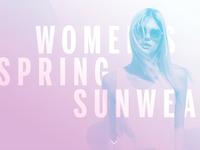 Women's Spring Sunwear