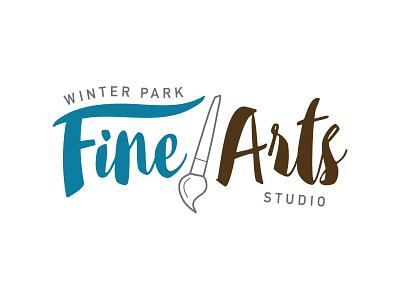 local arts school logo vector font type typography brand development branding logo development logo