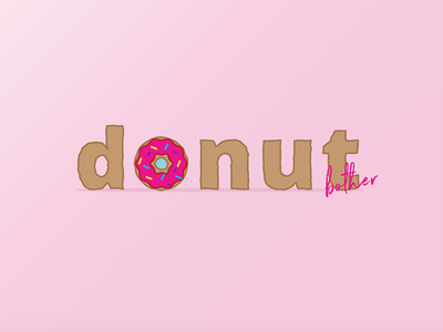 Donut Bother friday type pink vector sprinkle bother donut