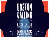 BOSTON CALLING 2019 Poster