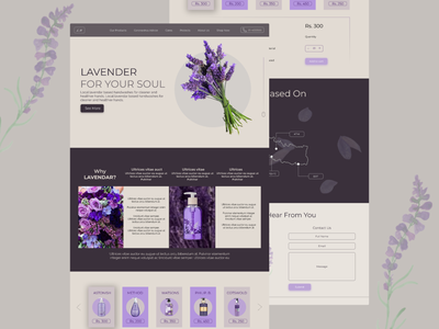 Shop Your Lavendar nepal art flat illustration branding design ux website ui