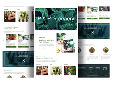 Nursery in our Hands order tree nursery typography branding nepal website ui ux design