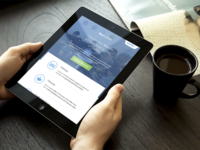 Mozilla MozCoffee Landing Page - Tablet