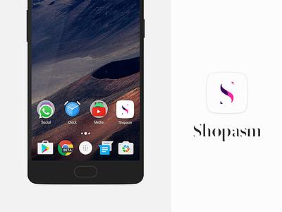 Shopasm - Logo fashion design logo exploration branding shopasm