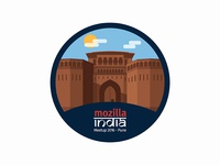 Mozilla India Meetup 2016 - Sticker