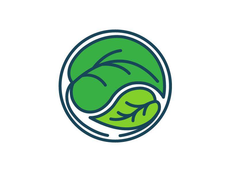 Student Mentorship Program Logo logo college illustration leaf care mentor student