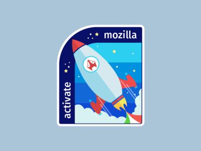 Activate Mozilla Sticker