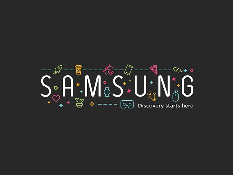 Samsung Goodies Illustration culture design code mobile coffee mug hoodies tshirt swag goodies icons samsung