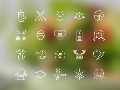 Cookspiration App (Icons)