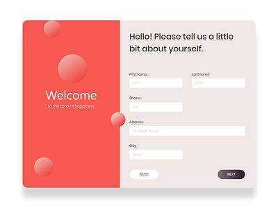 Signup #uidaily 01 dailyui 001 dailyui website uiux vector typogaphy minimal ui design design ui