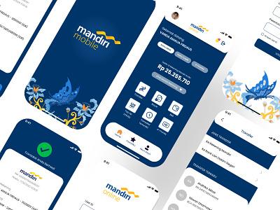 Redesign Mandiri Online Mobil Banking By Vanda Amalia F On Dribbble