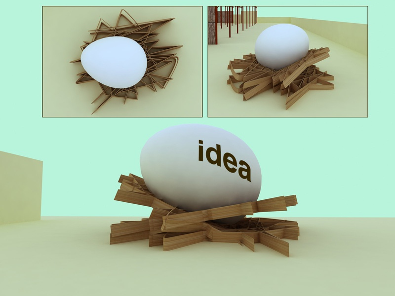 Egg. Born Idea