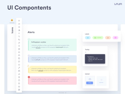 UI Compontents | Alerts  + Notifications ui components compontetns ux uidesign ui