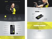 Core - One page layout