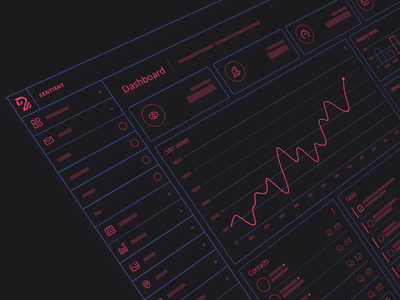 Reverse Wireframe wireframe responsive mobile ui dashboard