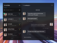 Simple Chat UI
